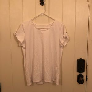 Cleo NEVER WORN White Short Sleeve Top